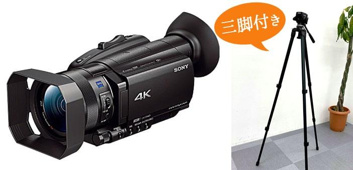カメラsony4k